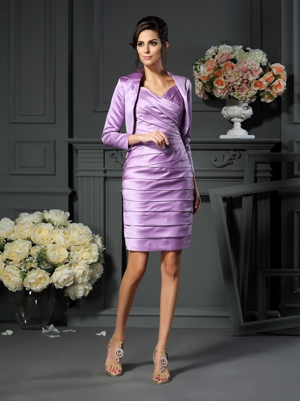 Satin 3/4 Ärmel Special Occasion Fashion Wrap