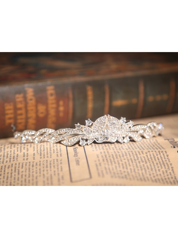 Beautiful Alloy With Czech Rhinestones Headpieces