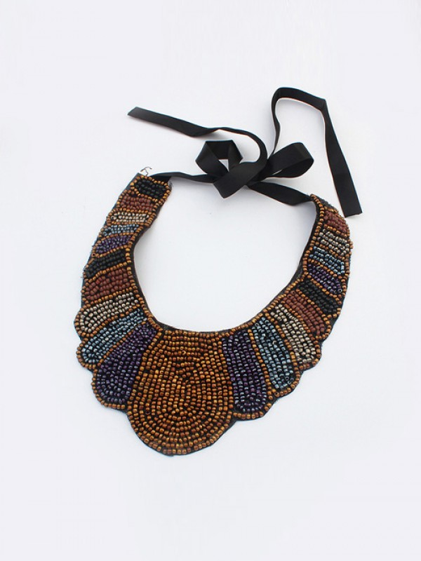 West Exotic Personality Retro Mode Halsband-20