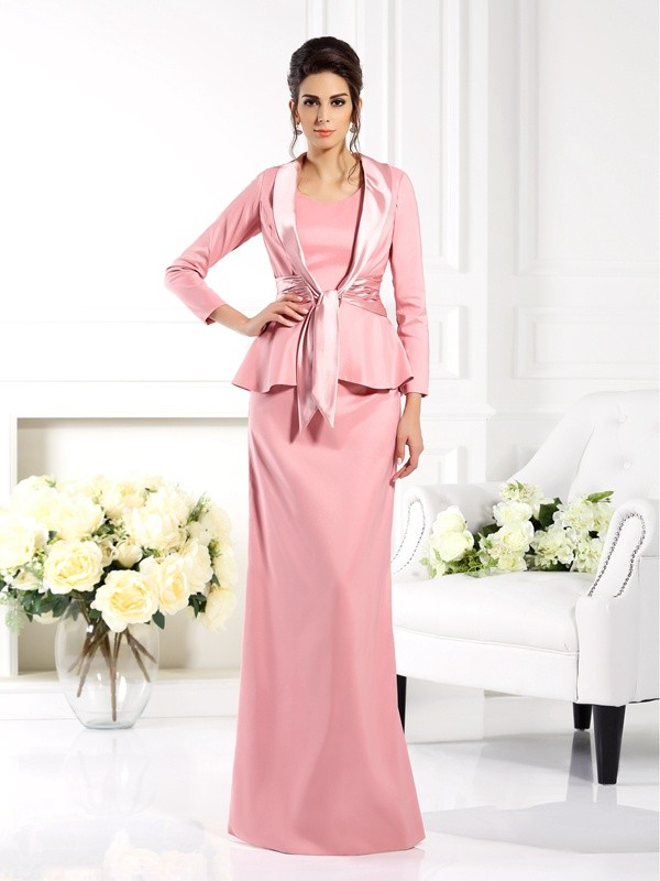 3/4 Ärmel Stretch-Satin Special Occasion Fashion Wrap