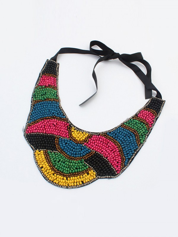 West Exotic Personality Retro Mode Halsband-13