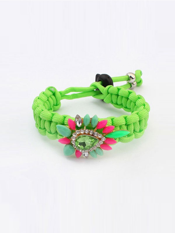 West Ethnic Customs Woven Colorful Mode Armband